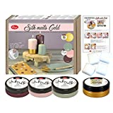 Kreativ Set Silk meets Gold, 9 tlg.